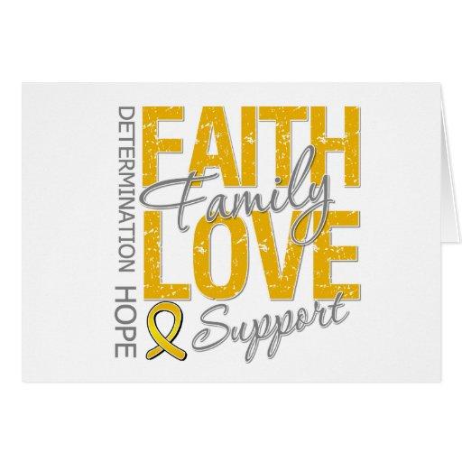 Cancer Inspiring Slogan Collage Appendix Cancer Card
