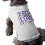 Cancer Inspiring Slogan Collage Hodgkin's Lymphoma Pet Tee Shirt
