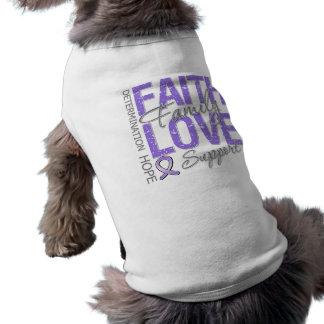 Cancer Inspiring Slogan Collage Hodgkin's Lymphoma T-Shirt