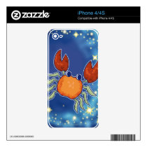 Cancer iPhone 4S Decal