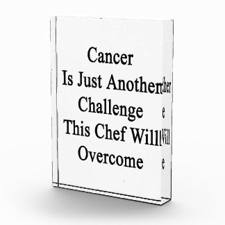 Cancer Is Just Another Challenge This Chef Will Ov Awards