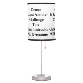 Cancer Is Just Another Challenge This Chess Instru Lamp