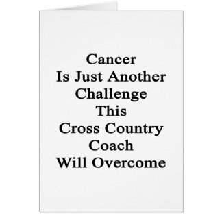 Cancer Is Just Another Challenge This Cross Countr Greeting Cards