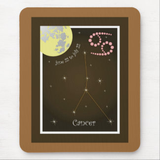Cancer June 22 to July de 22 Mauspad Tapete De Raton