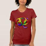 Cancer & Leo GLBT Partners T-shirt