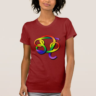 Cancer & Leo GLBT Partners T Shirts
