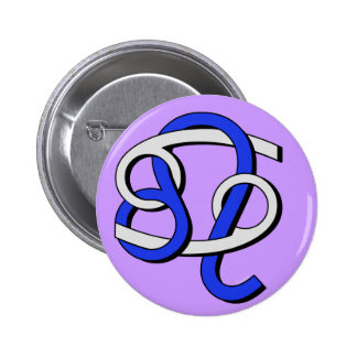 Cancer & Leo GyB Pinback Button
