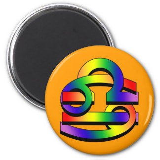 Cancer & Libra GLBT Magnet