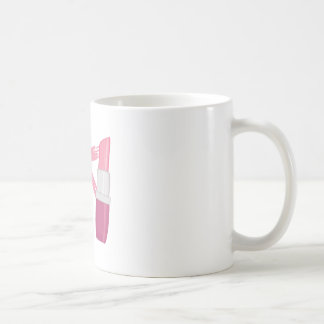 Cancer Lipstick Classic White Coffee Mug