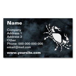 Cancer Magnetic Business Card