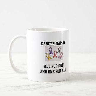 Cancer Mamas All for One and One for all! Coffee Mug
