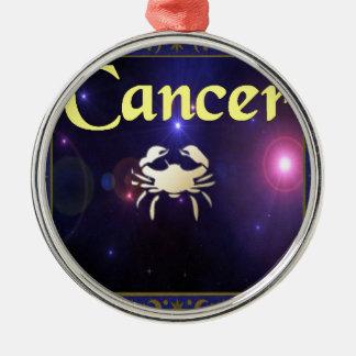 Cancer Metal Ornament