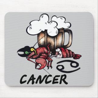 Cancer Mouse Pad Cartoon Zodiac