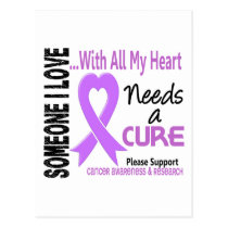 Cancer Needs A Cure 3 Postcard