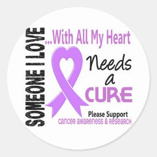 Cancer Needs A Cure 3 Sticker