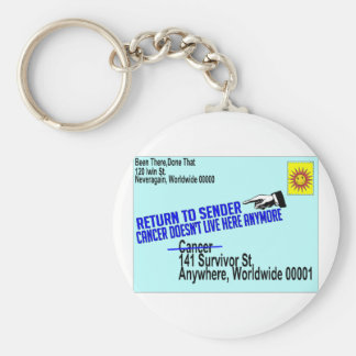 Cancer No More Keychains