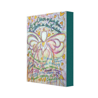 Cáncer No Puede Hacer Angel Canvas Art Painting Gallery Wrap Canvas