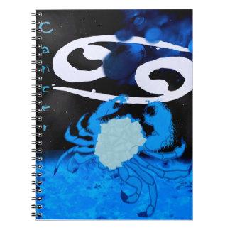 cancer spiral notebook