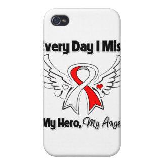 Cáncer oral cada Srta My Hero del día I iPhone 4/4S Carcasa
