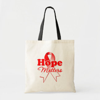 Cáncer oral de la esperanza bolsa tela barata