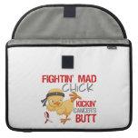 Cáncer oral del polluelo de Fightin Fundas Para Macbook Pro
