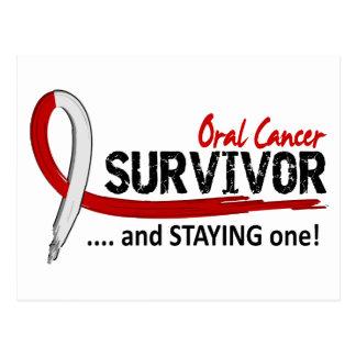 Cáncer oral del superviviente 8 postales