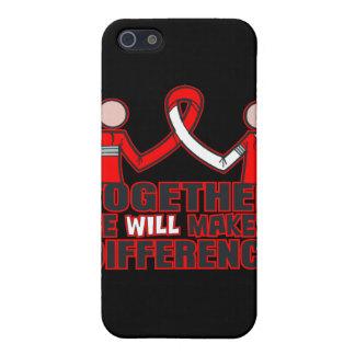 Cáncer oral junto haremos un Difference.png iPhone 5 Fundas