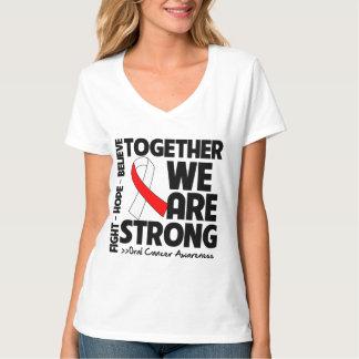 Cáncer oral juntos somos fuertes poleras