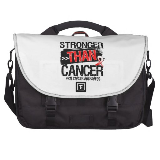 Cáncer oral - más fuerte que cáncer bolsas para portátil