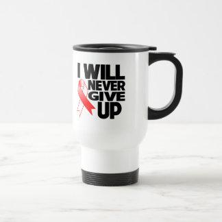 Cáncer oral que nunca daré para arriba tazas