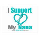 Cáncer ovárico apoyo a mi Nana Tarjeta Postal