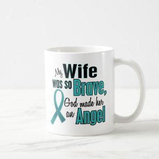 Cáncer ovárico/de cuello del útero del ángel taza de café