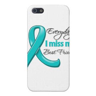 Cáncer ovárico de I del mejor amigo diario de Srta iPhone 5 Cárcasas
