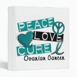 Cáncer ovárico de la curación del amor de la paz