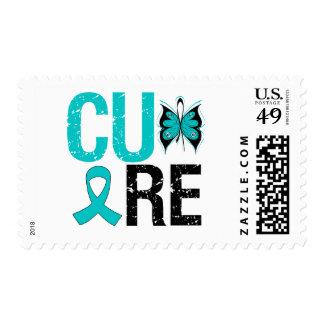Cáncer ovárico de la curación sello