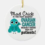 Cáncer ovárico de los pacientes enojados del pollu ornatos