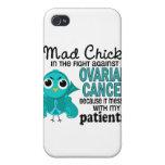 Cáncer ovárico de los pacientes enojados del pollu iPhone 4/4S funda