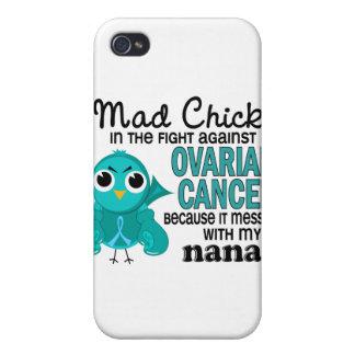 Cáncer ovárico de Nana del polluelo enojado 2 iPhone 4 Cárcasa