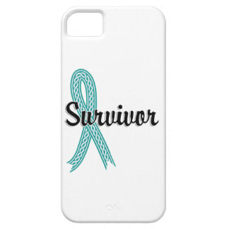 Cáncer ovárico del superviviente 17 iPhone 5 funda