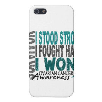 Cáncer ovárico del superviviente 4 iPhone 5 carcasa