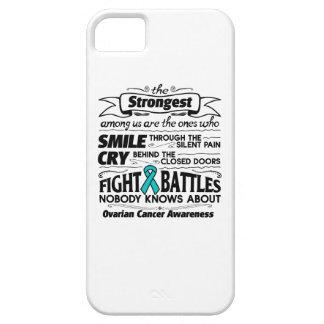 Cáncer ovárico más fuerte entre nosotros iPhone 5 carcasa