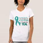 Cáncer ovárico para cada ..... llevo orgulloso el  camiseta
