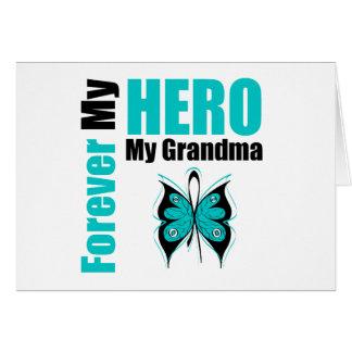 Cáncer ovárico para siempre mi héroe mi abuela felicitaciones