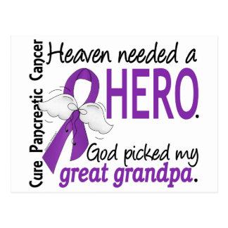Cáncer pancreático abuelo necesario del héroe del postal