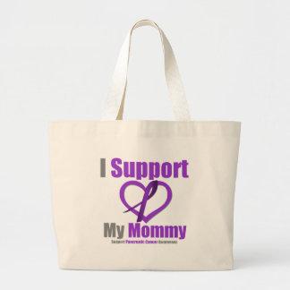 Cáncer pancreático apoyo a mi mamá bolsa de mano