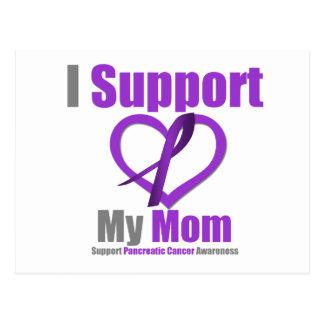 Cáncer pancreático apoyo a mi mamá postal