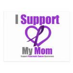 Cáncer pancreático apoyo a mi mamá postales