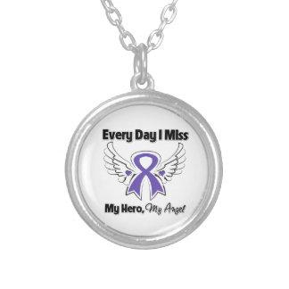 Cáncer pancreático cada Srta. My Hero del día I Collar Personalizado