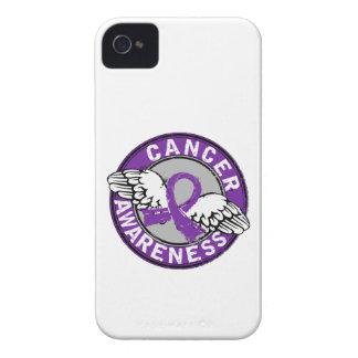 Cáncer pancreático de la conciencia 14 iPhone 4 protectores