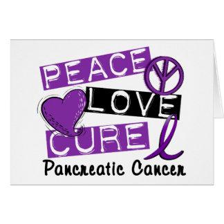 Cáncer pancreático de la curación del amor de la p felicitacion
